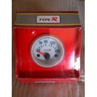 Grey oil temperature gauge...